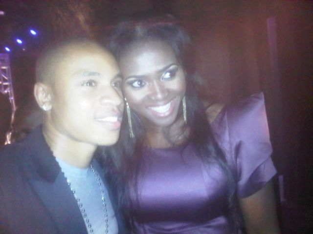 TolumiDE NEA Nigeria Entertainment Awards 2011 - 04