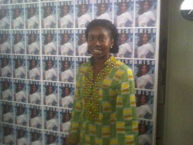 TolumiDE at Arise Fashion Show 2011 - 16