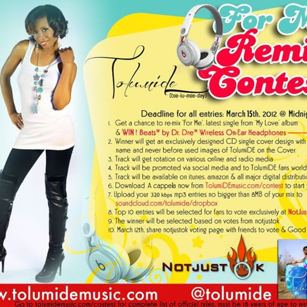 For Me – Remix Contest