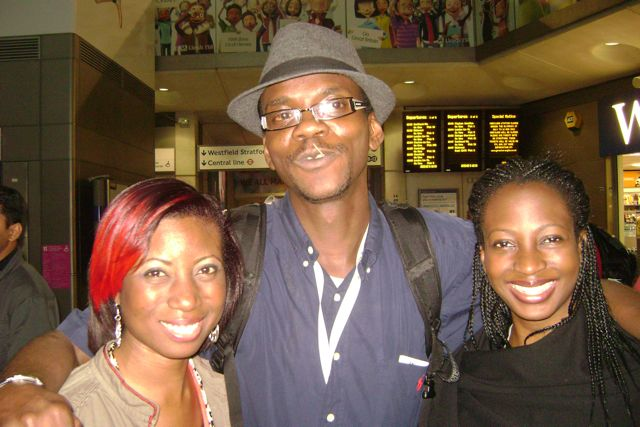 TolumiDE Garden Theater Tosin Otudeko London Olympics 2012 - 11