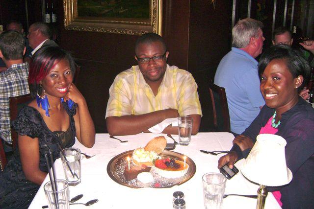 Birthday Eats at Capital Grill