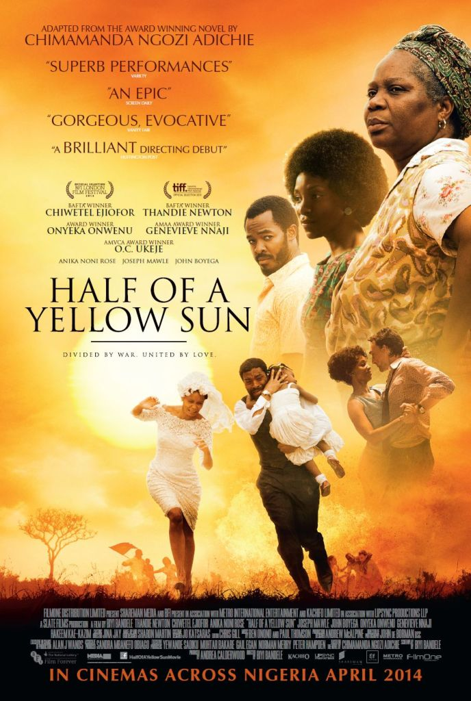 Half of a Yellow Sun in DMV