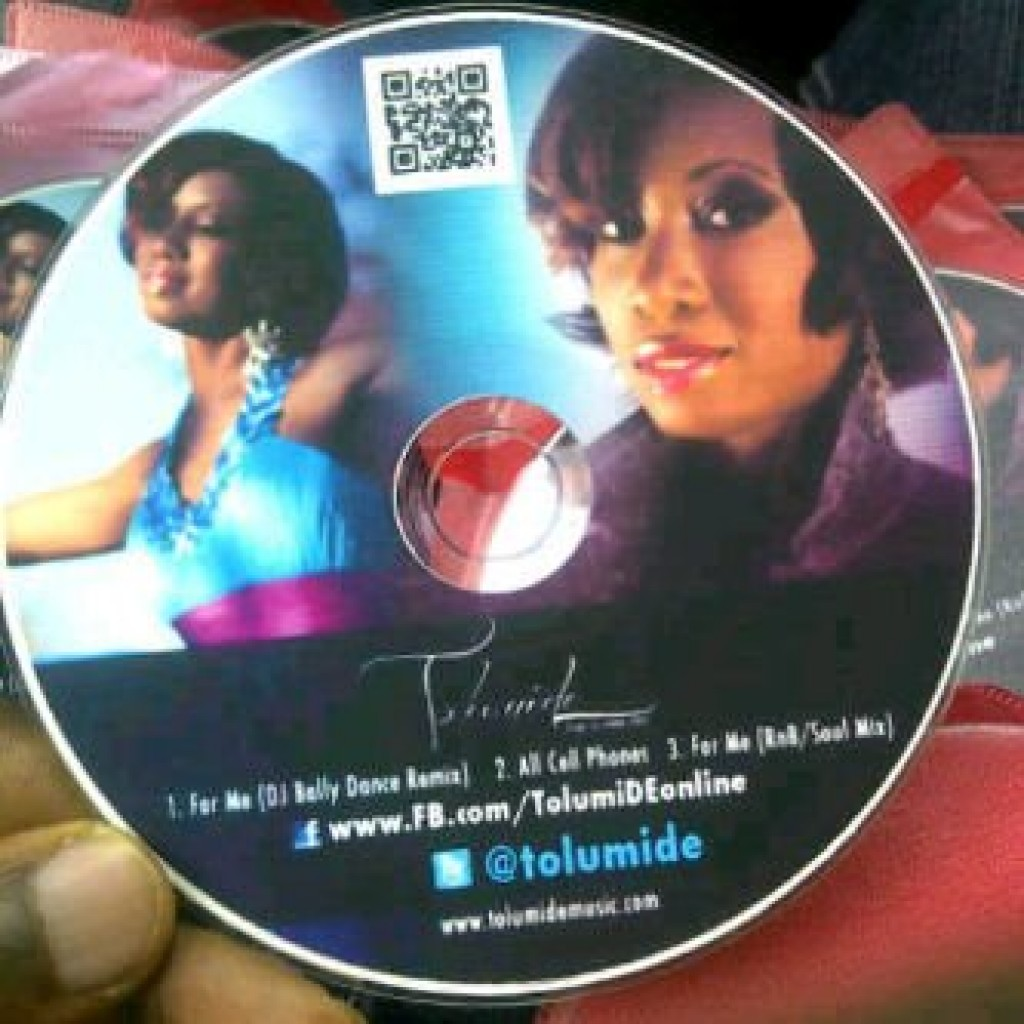 For Me Promo CD for NIgeria Distribution