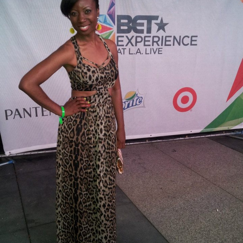 Live in LA at BET Experience