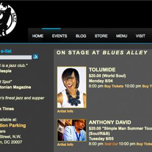 TolumiDE Blues Alley Website Promo