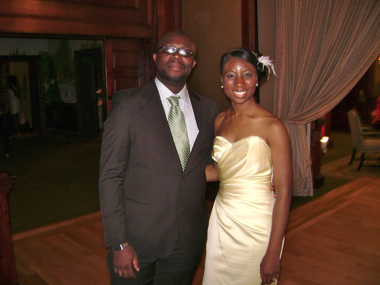 Folake and Mashood Wedding 2009 - 08