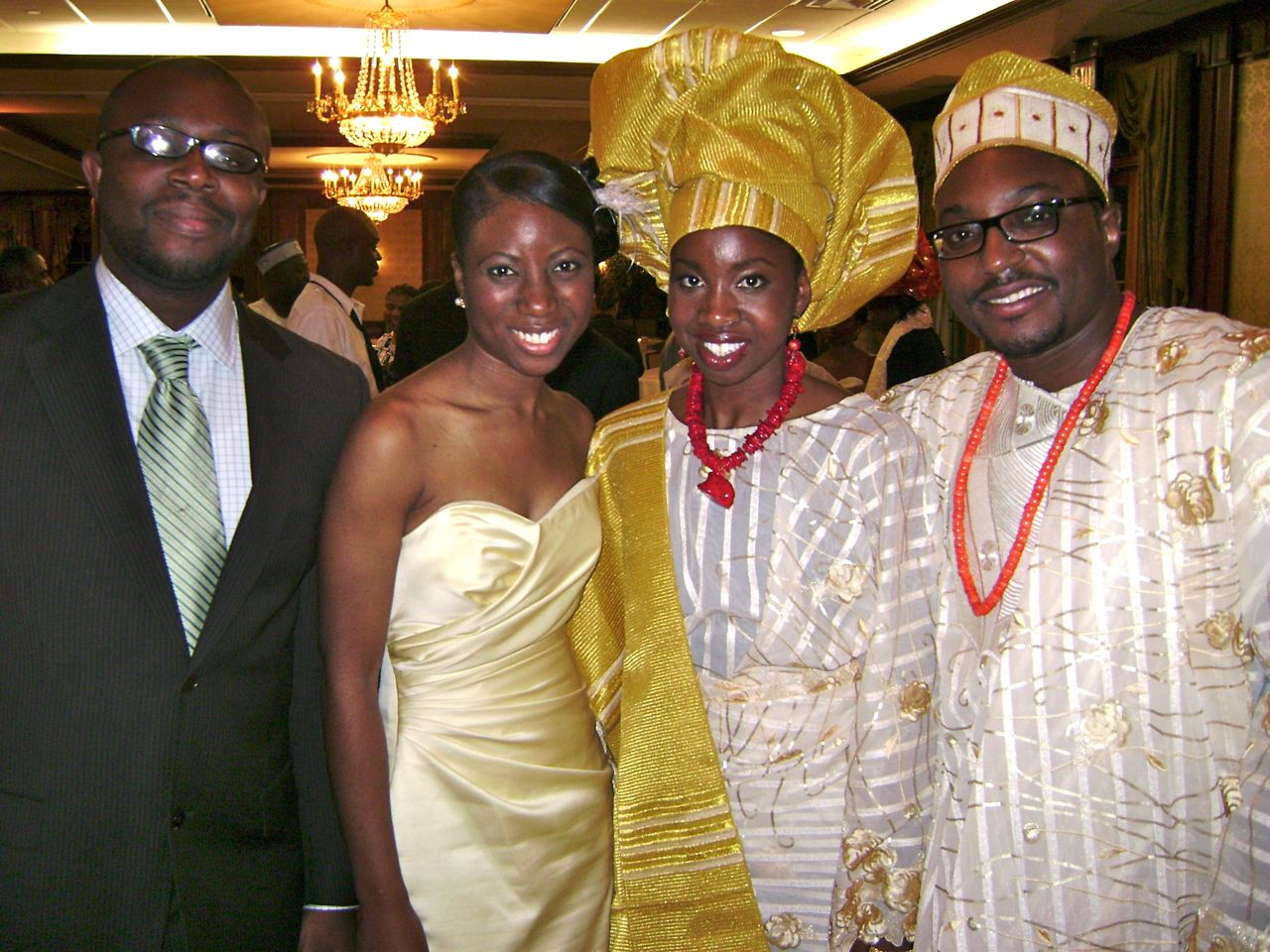 Folake and Mashood Wedding 2009 - 15