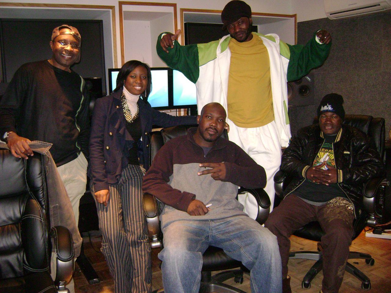 Olagbara Recording Session Bowie MD November 7th 2009 - 10 John Bashengezi TolumiDE Blaise Tangelo Ngouma Lokito