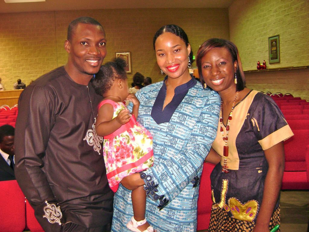 Seyi Brown Lovely Family