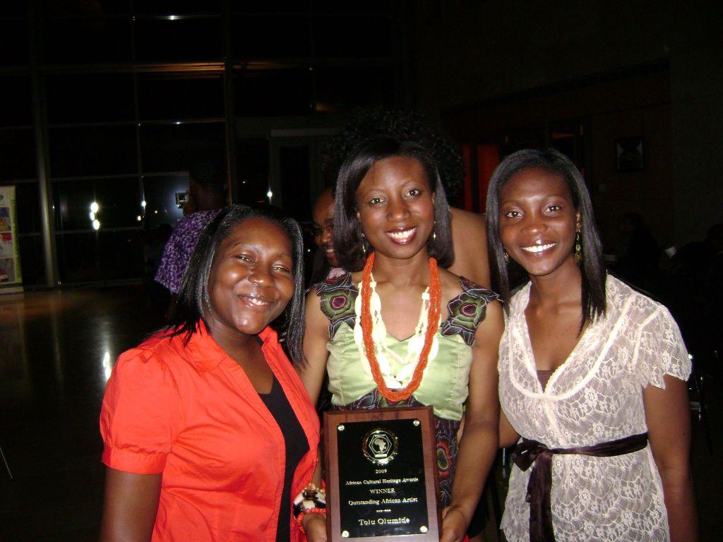 International Award at Nigeria Embassy