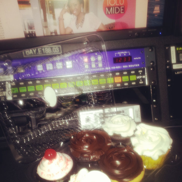 Cupcakes from Nicole n Sabrina – Thx!