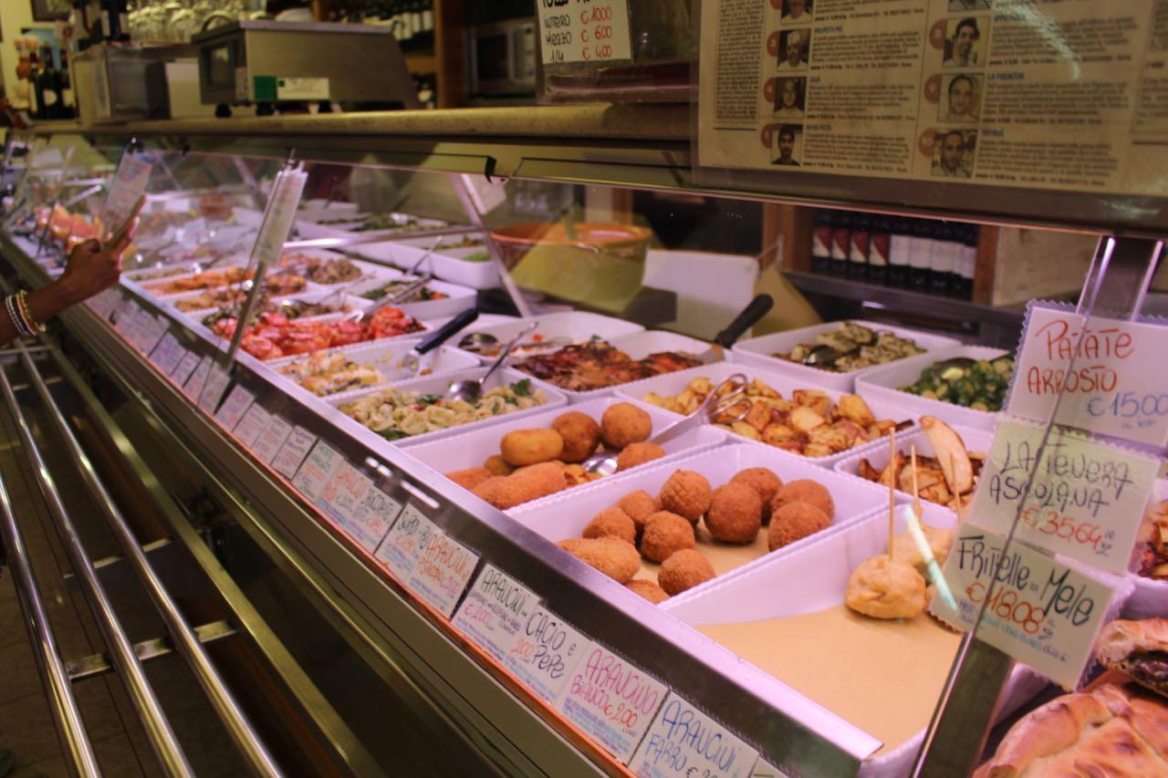 1FTtravel Rome Italy Food Restaurant Tour - Testaccio - Lazio, May 22, 2015 - 7 of 41