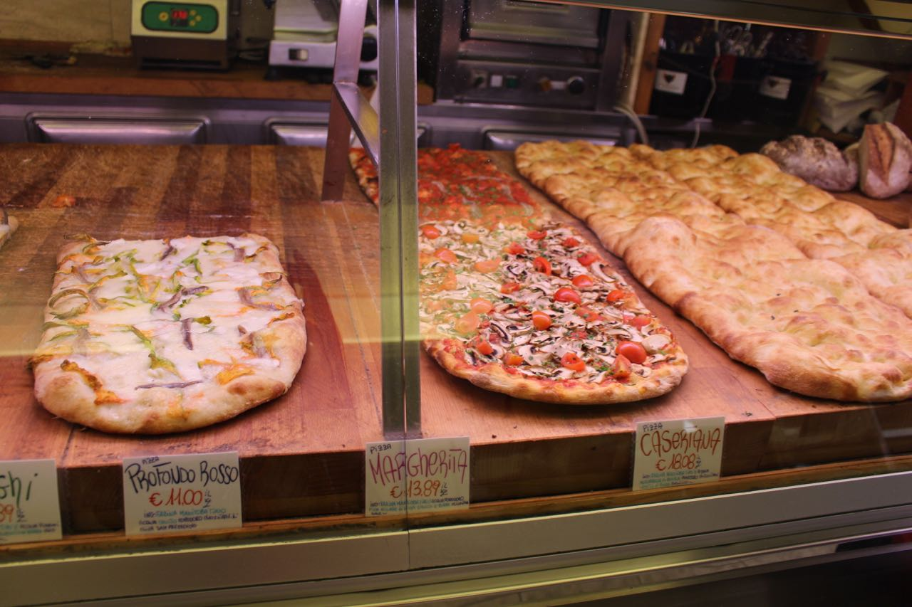 These are the other pizzas he made today at the restaurant, wasn't trying those, but people near me said it was tasty.