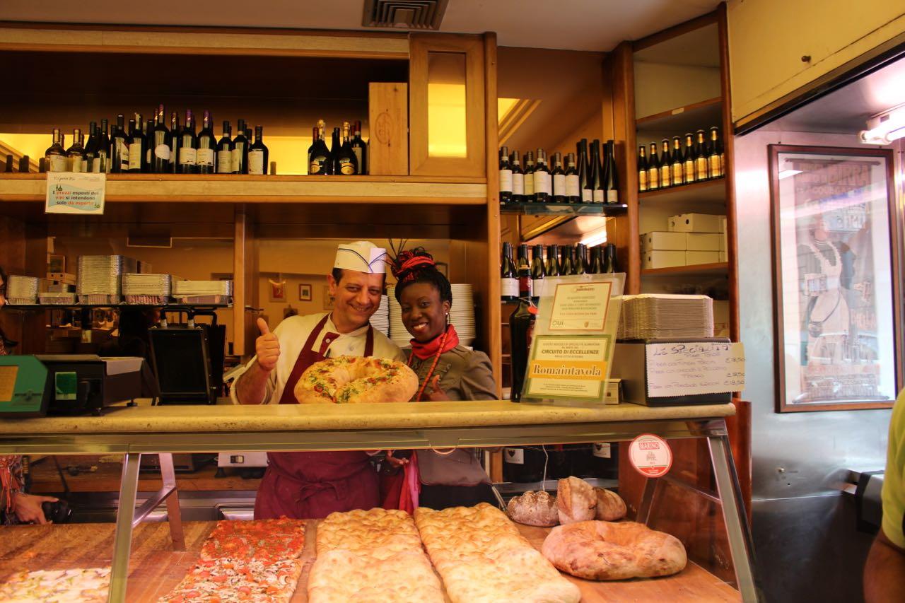 1FTtravel Rome Italy Food Restaurant Tour - Testaccio - Lazio, May 22, 2015 - 9 of 41