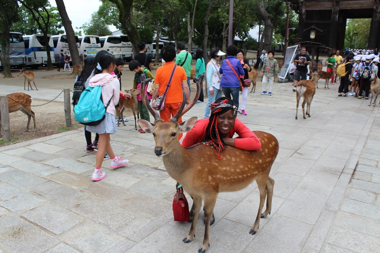 Nara and Osaka
