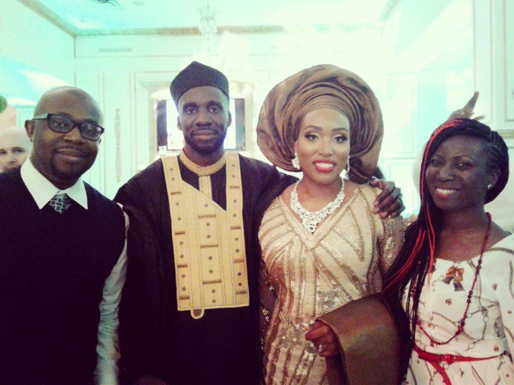 Congratz Kimberly and Niyi Wedding