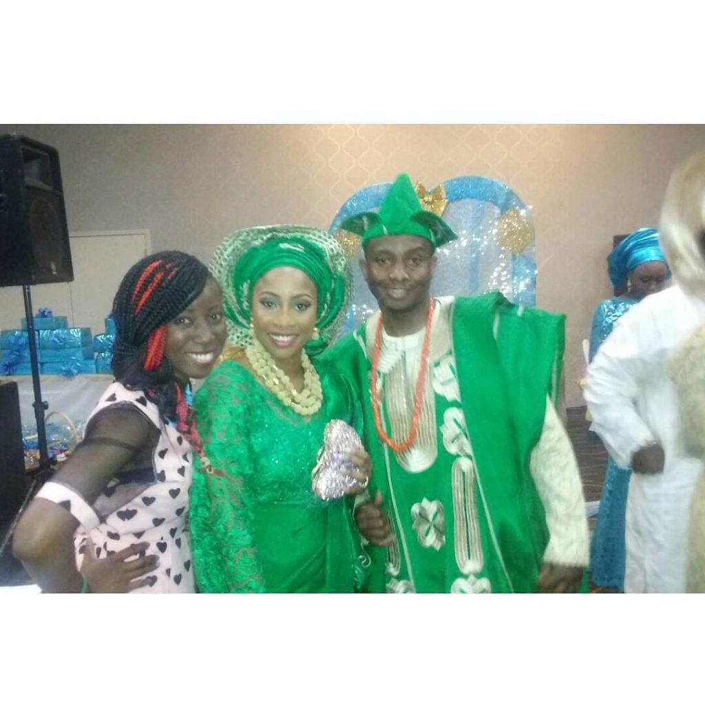 Congrats Bola and Jide Wedding