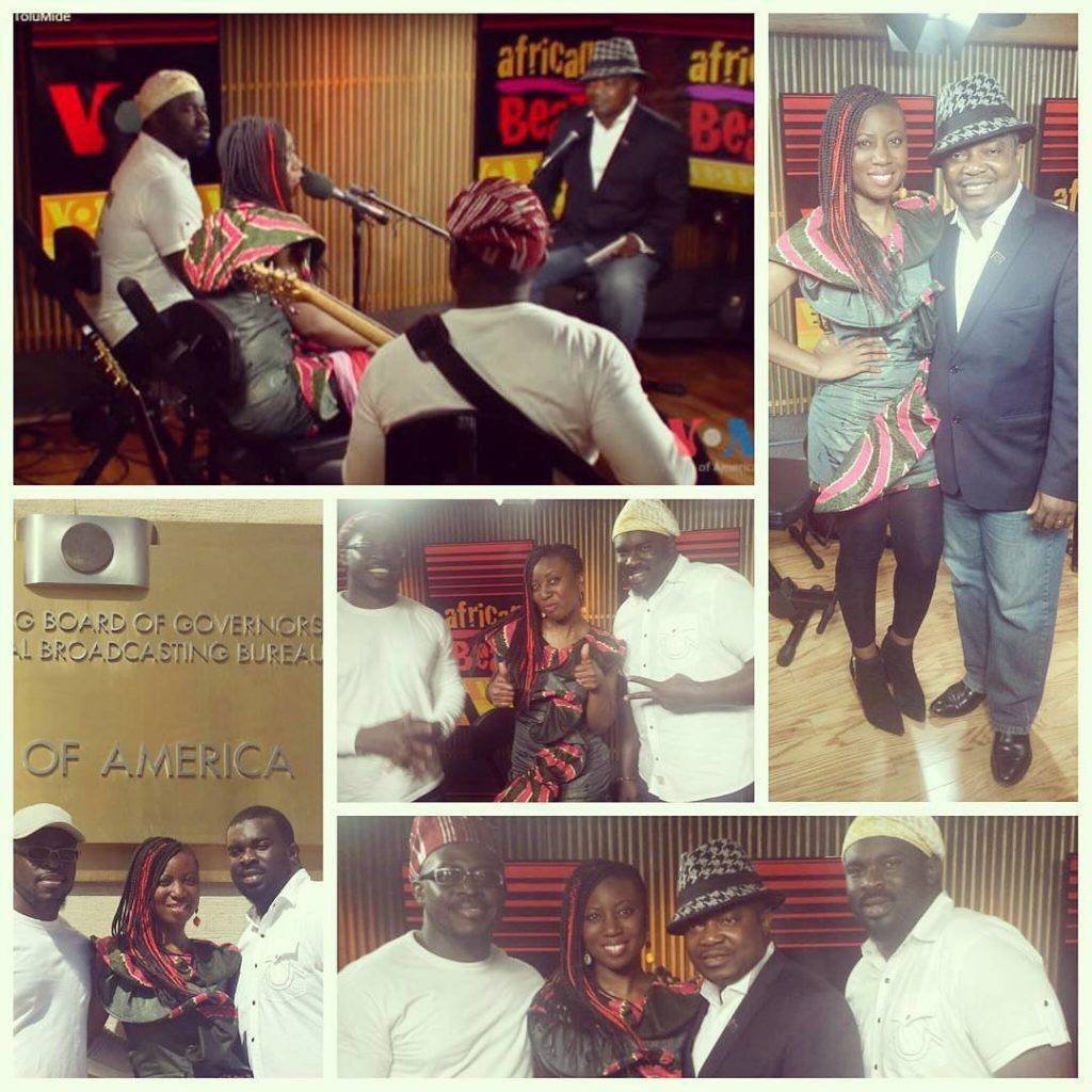 Live on VOA's African Beat