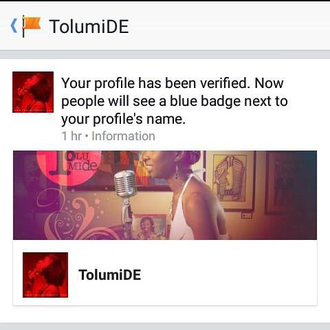 IAM Facebook Verified!