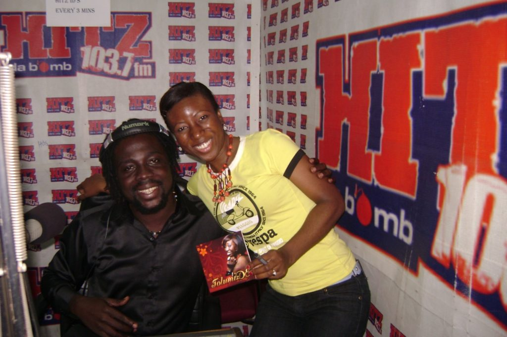 Performing and Radio Interviewing in Ghana