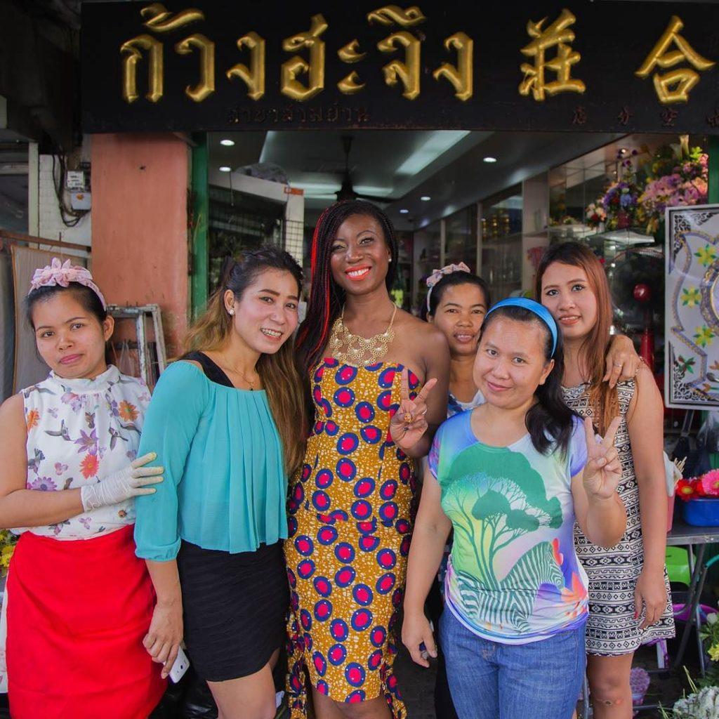 Happy to meet you Thai Ladies