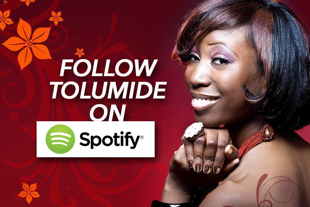 Listen to TolumiDE music on Spotify!