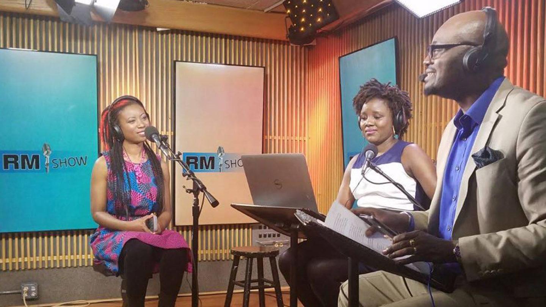 Rocking Kiki Fashion from Ghana for Roger Muntu RM Show